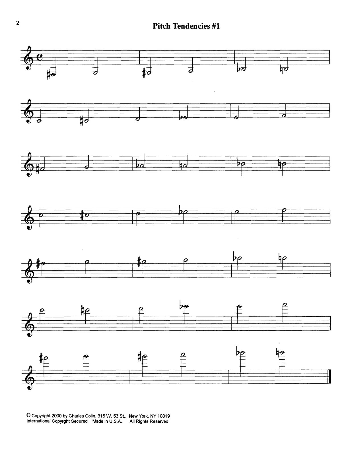 Ponzo, Pitch Tendency Exercises for Trumpet_000006
