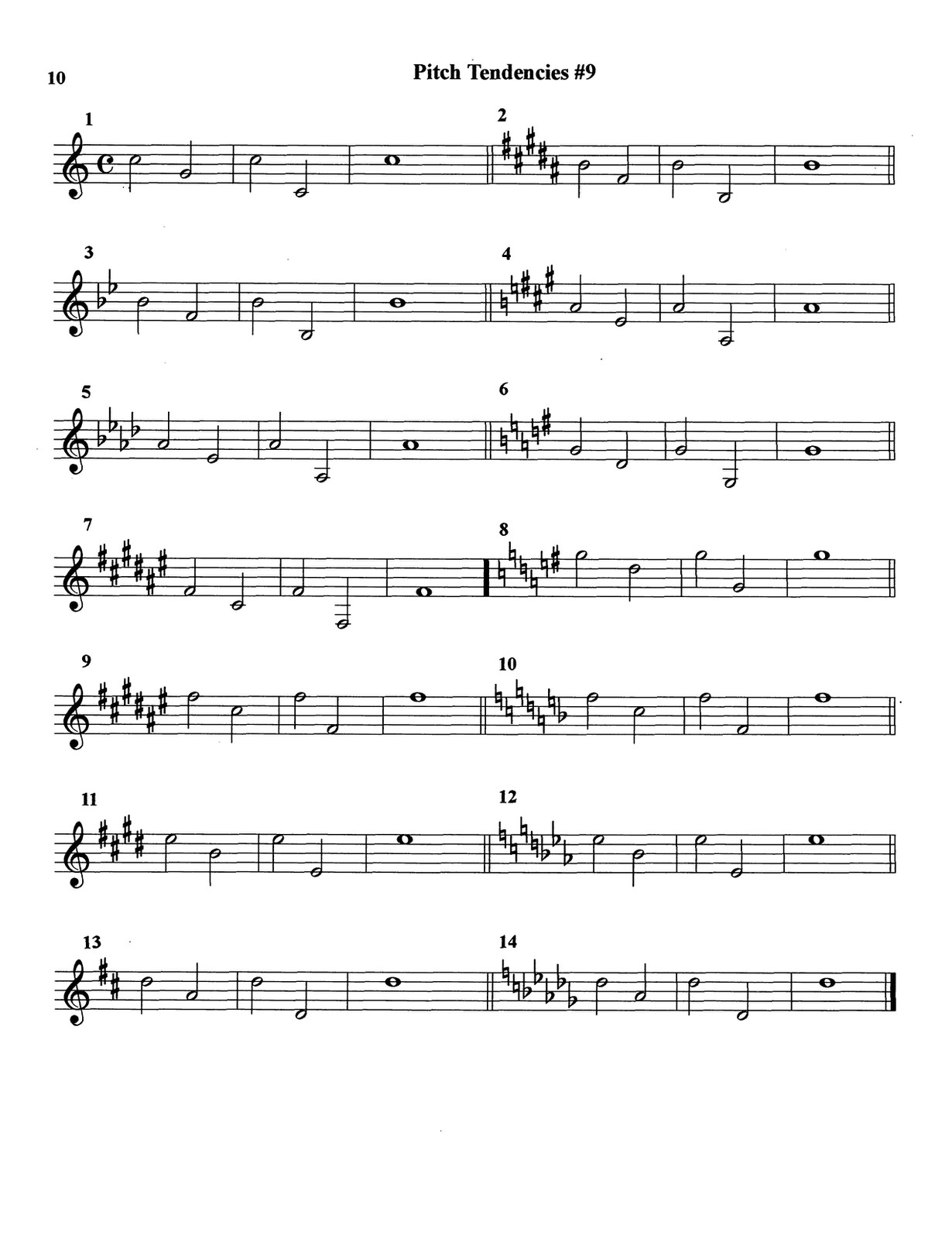 Ponzo, Pitch Tendency Exercises for Trumpet_000014
