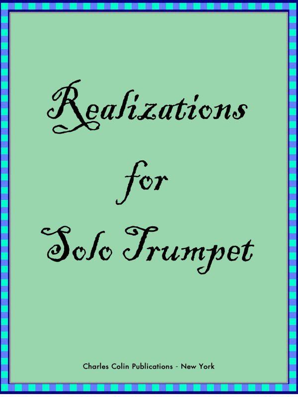 Ponzo, Ten Realizations for Solo Trumpet_000001
