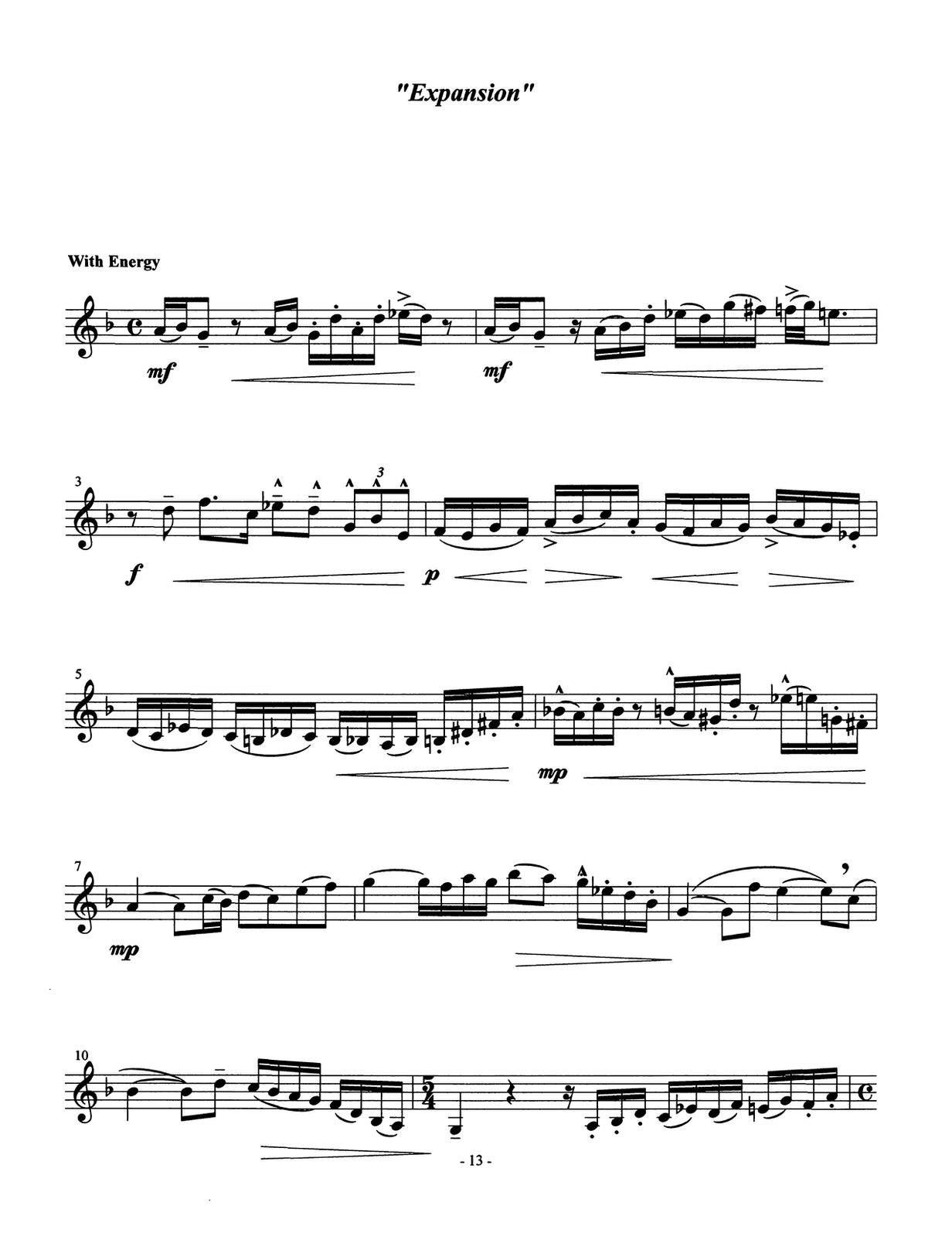 Ponzo, Ten Realizations for Solo Trumpet_000015
