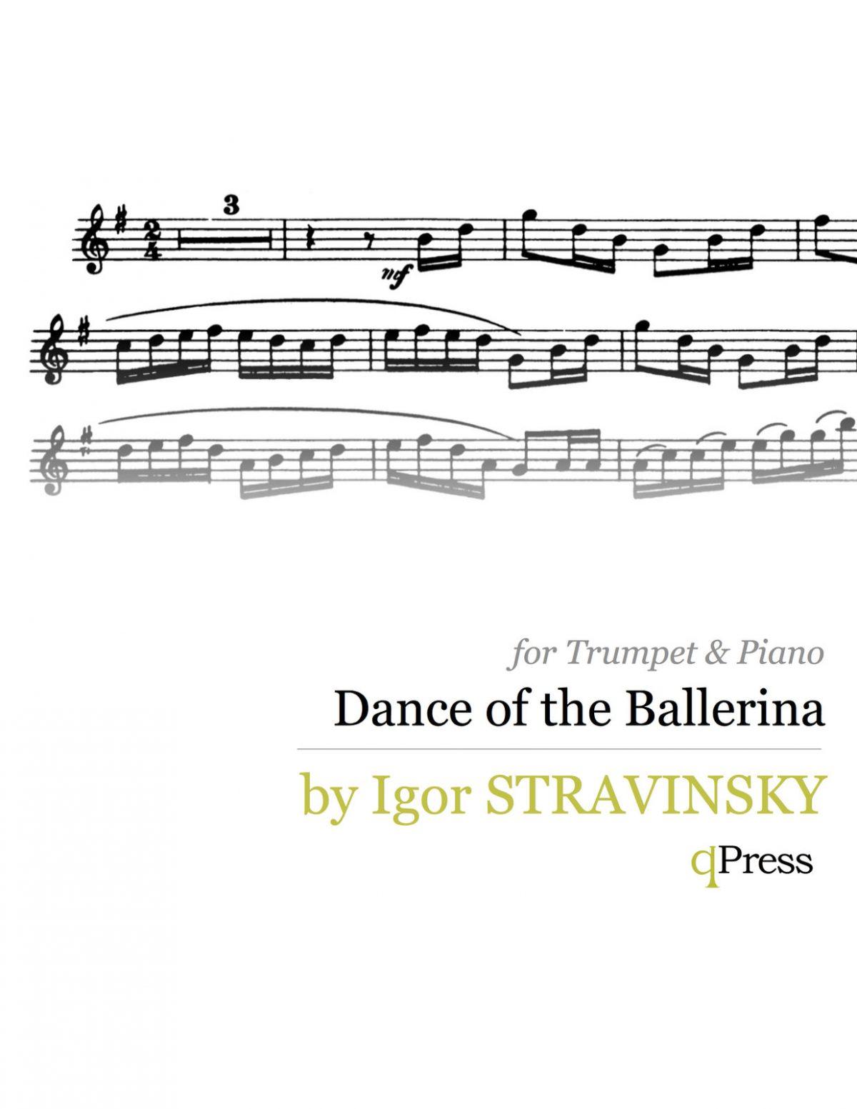 Stravinsky, Dance of the Ballerina