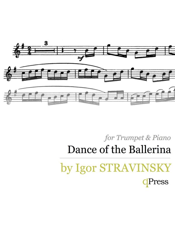 Stravinsky, Dance of the Ballerina
