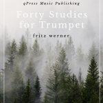 Werner, Fritz, 40 Studies for Trumpet-p01