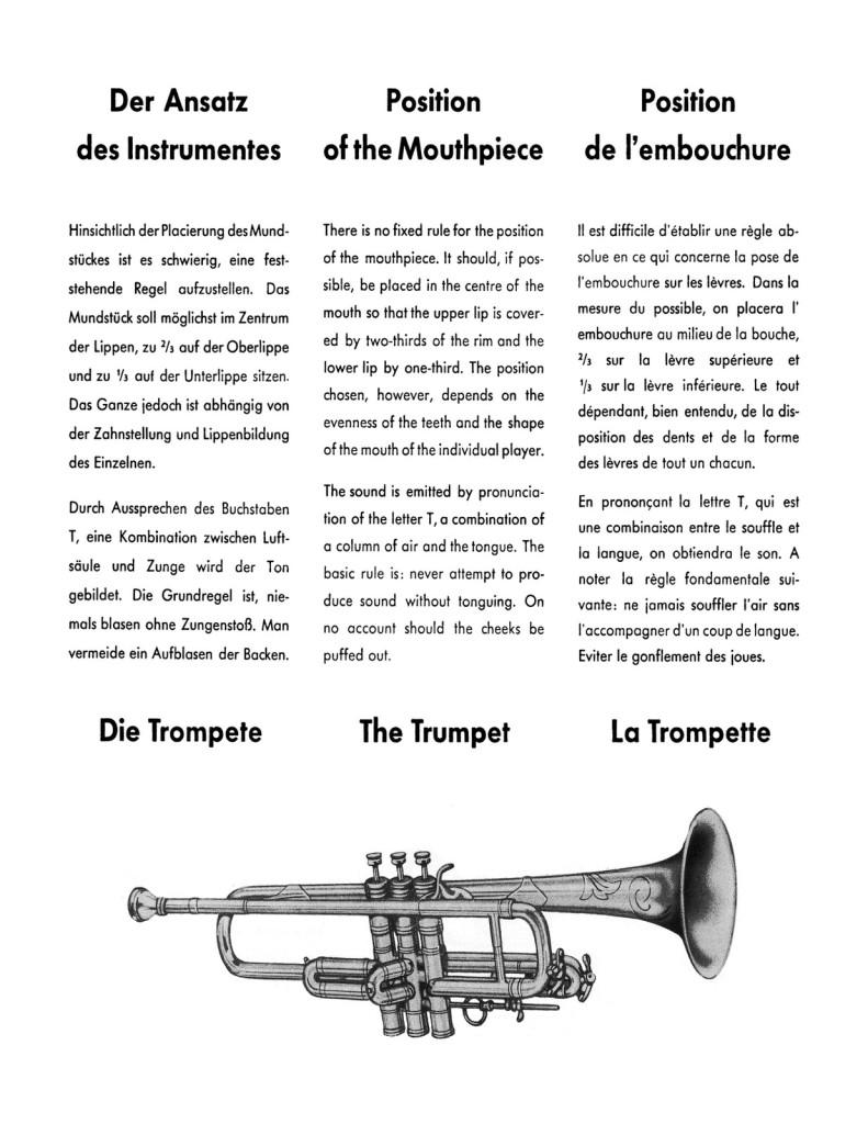 Louis Armstrong Trumpet Method