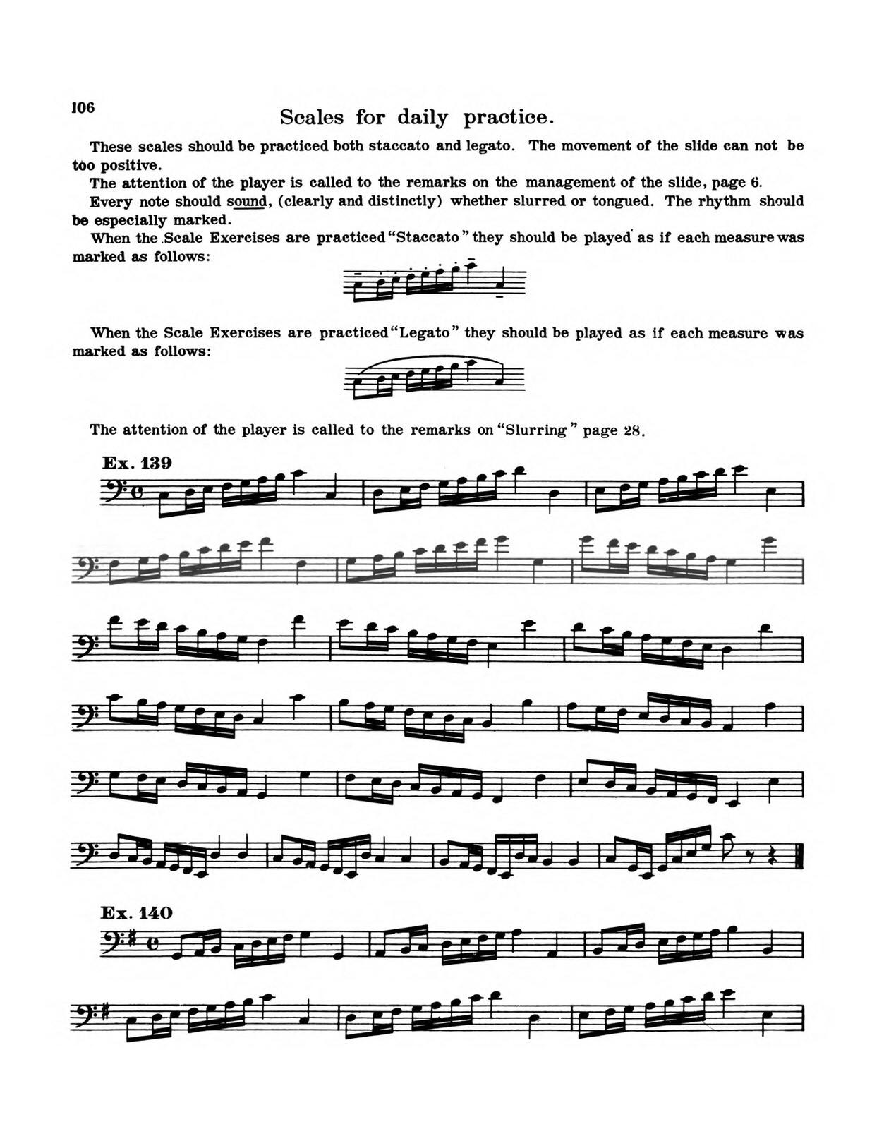 Clarke, Ernest, Method for Trombone 8