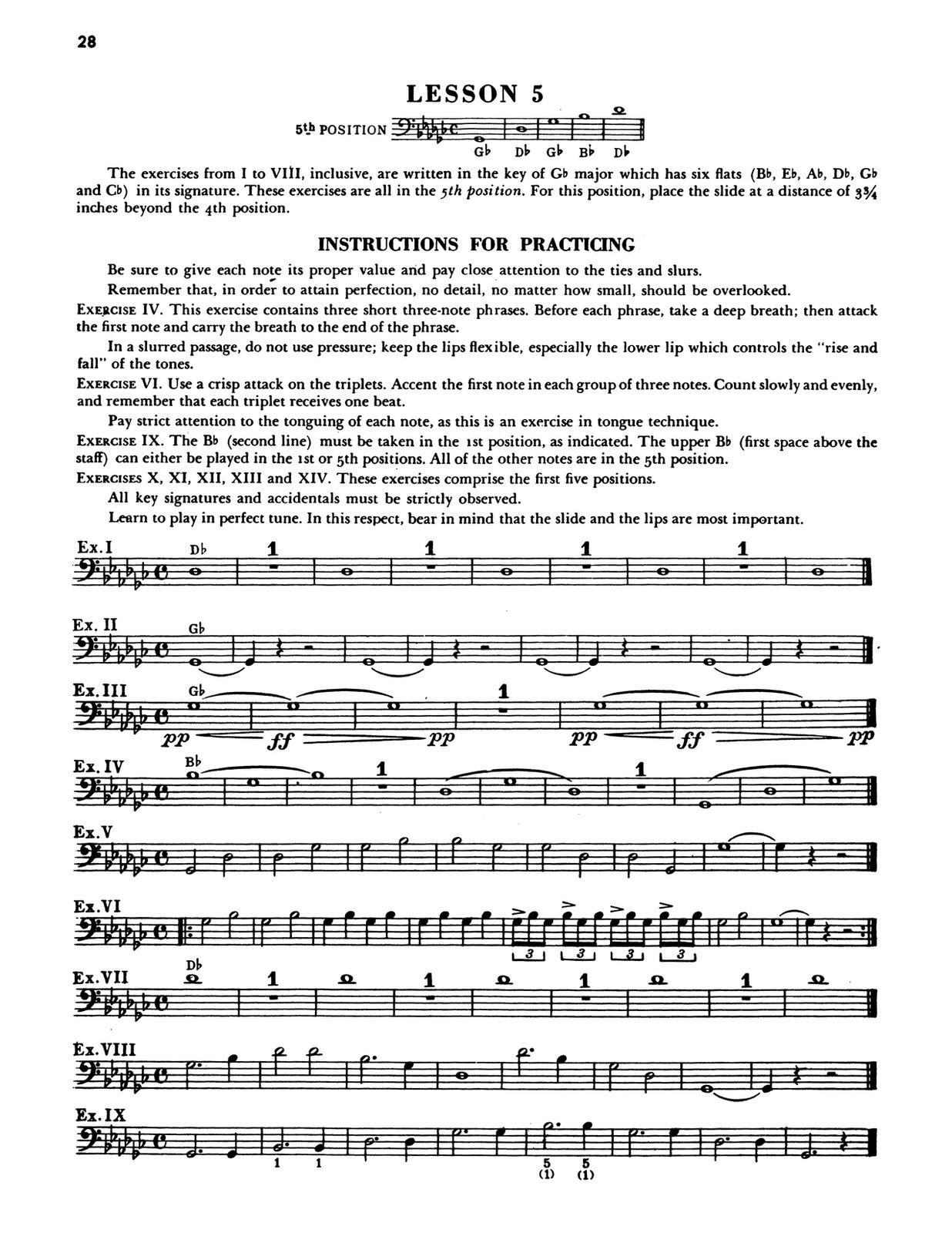 Clean Dorsey, The Modern Trombonist 5