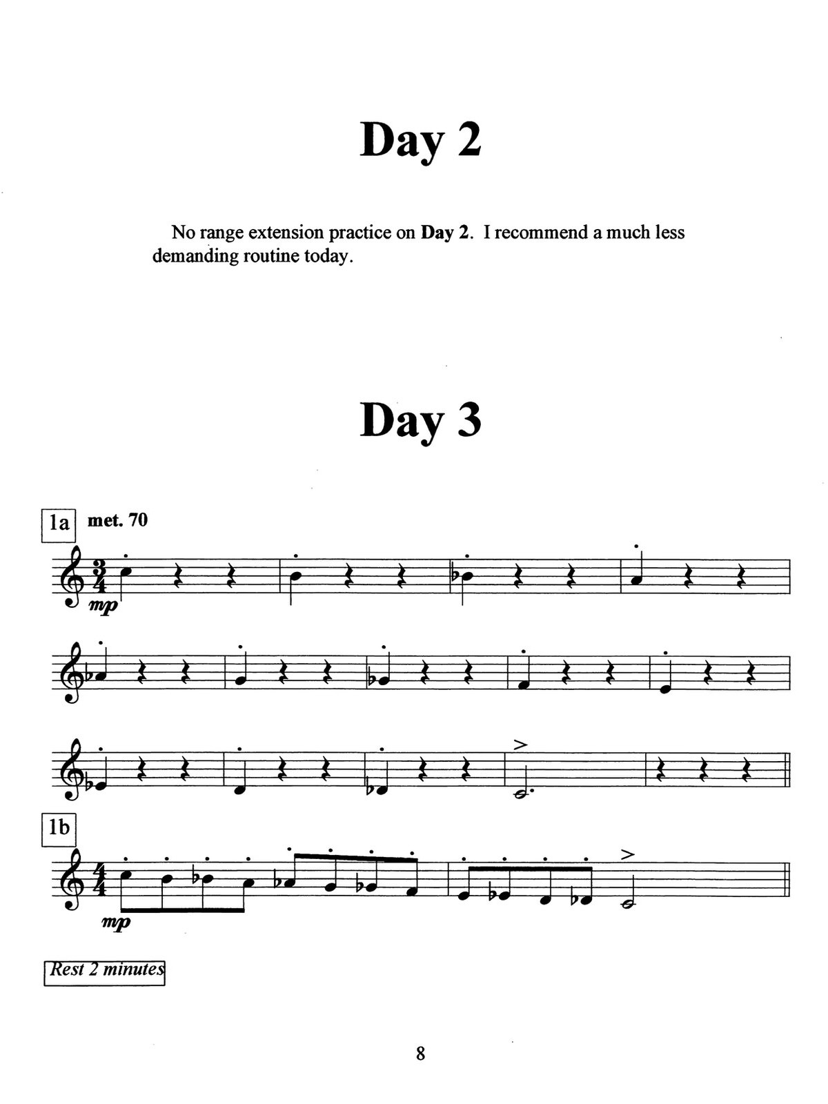 Gollehon, Extending The Trumpet Range 5