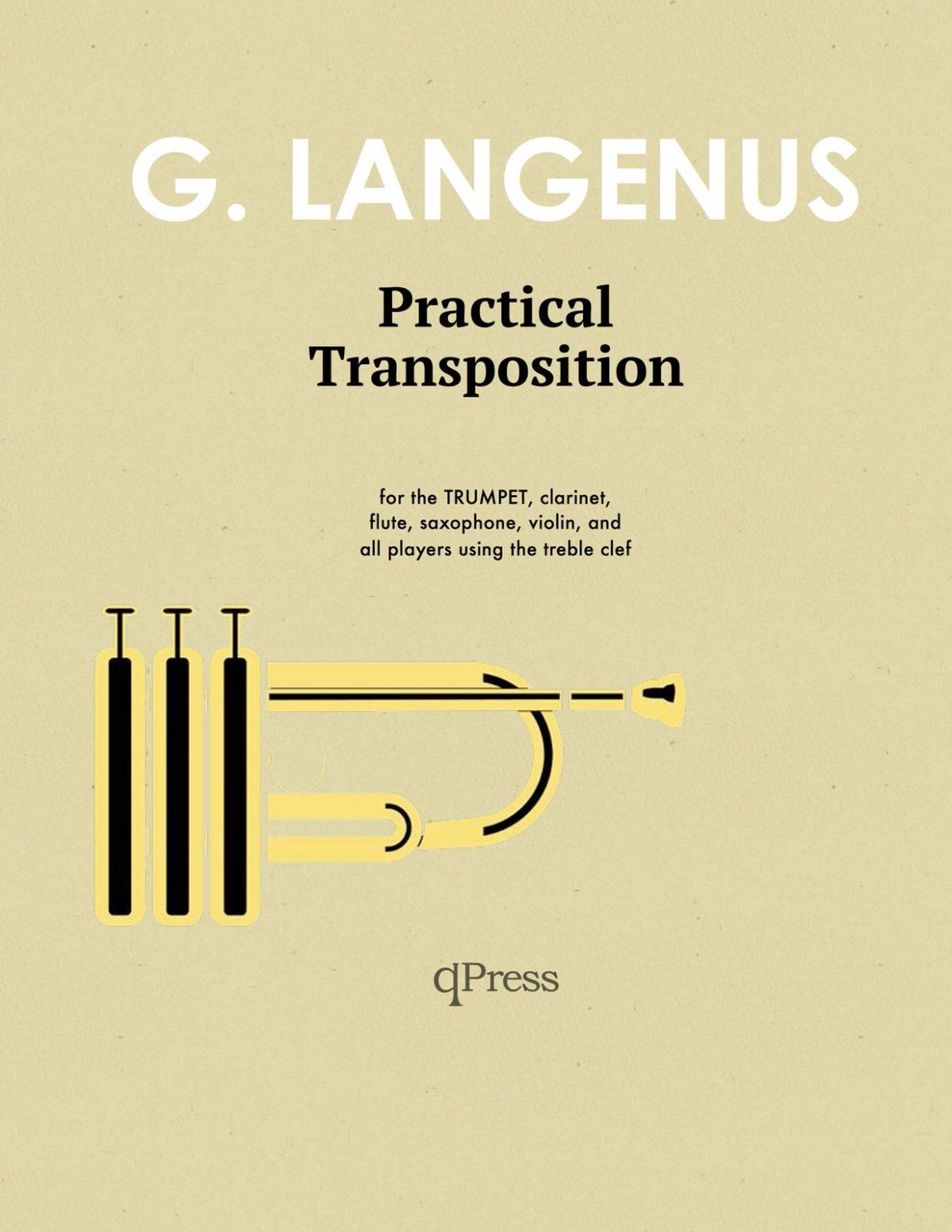 Langenus, Gustave, Practical Transposition for Trumpet-p01