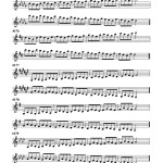Ponzo, Scale Pattern Dexterity Exercises for Trumpet 4