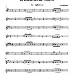 Ponzo, Set Up Drills and Patterns for Embouchure Development 3