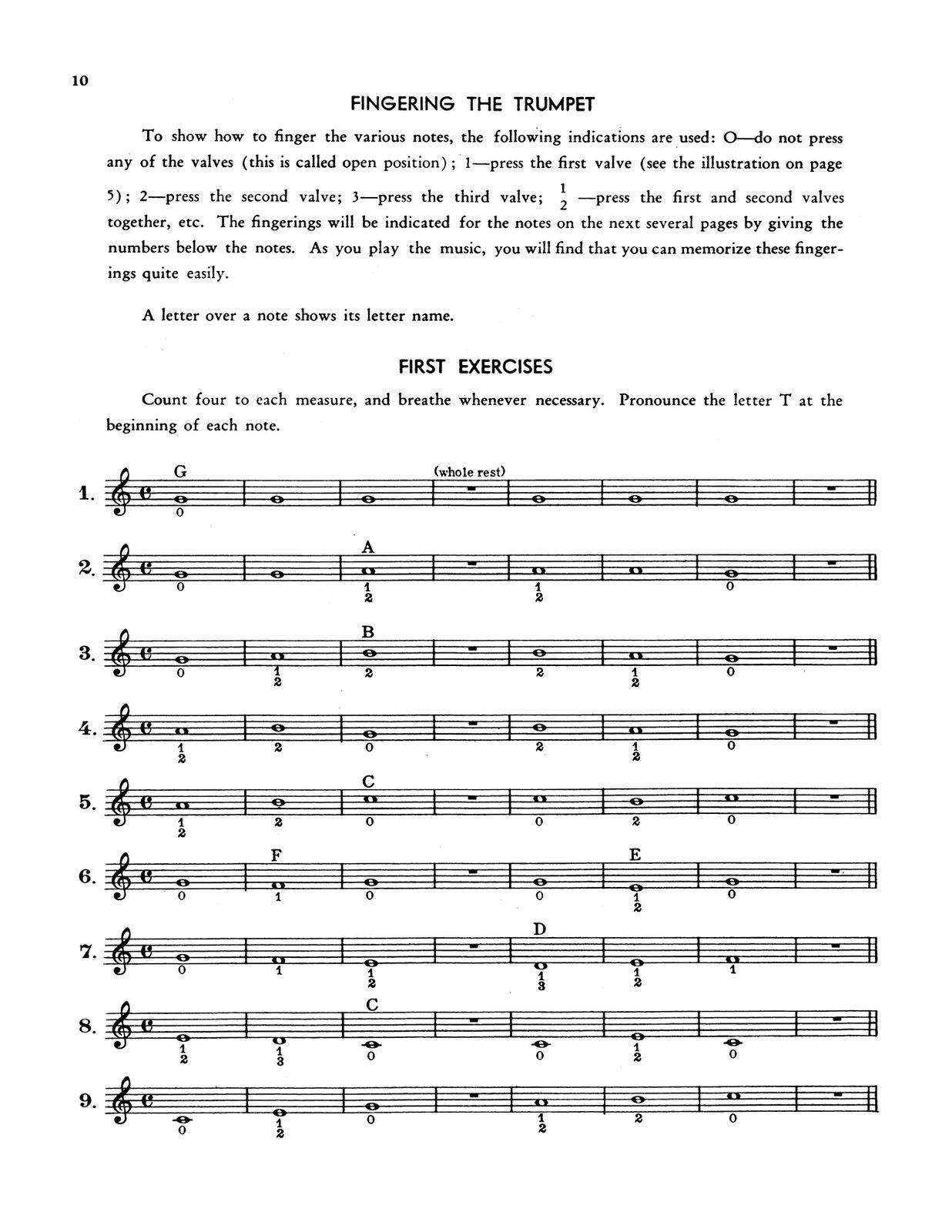 James, Harry Method for Trumpet 4