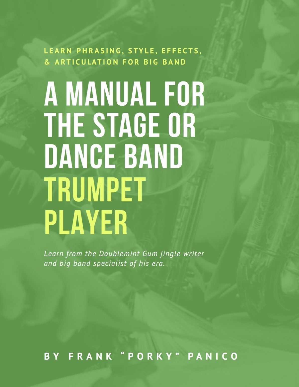 Panico, A Manual for the Stage or Dance Band Trumpet Player-p001