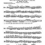 Slama, 66 Etudes in all Major and Minor Keys for Trombone, Tuba, Bassoon String Bass 2