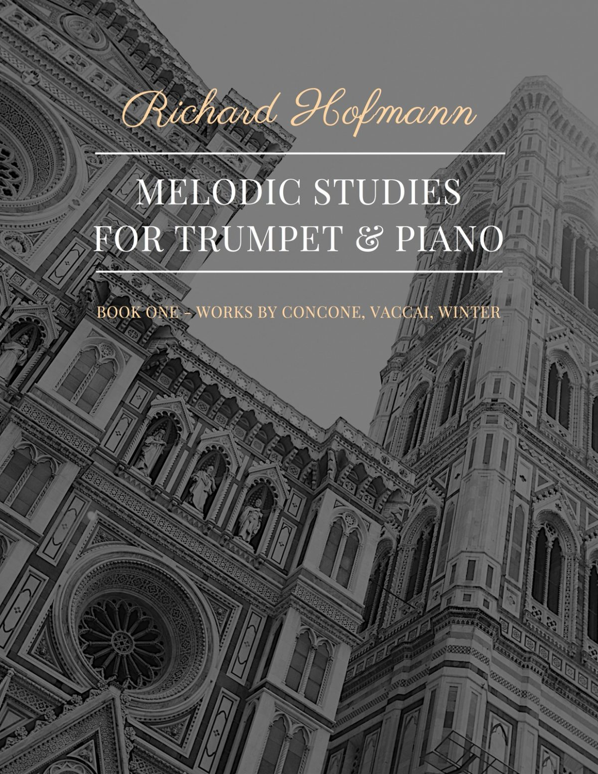 Hoffmann, Melodic Studies for Trumpet & Piano (Part and Score)-p01