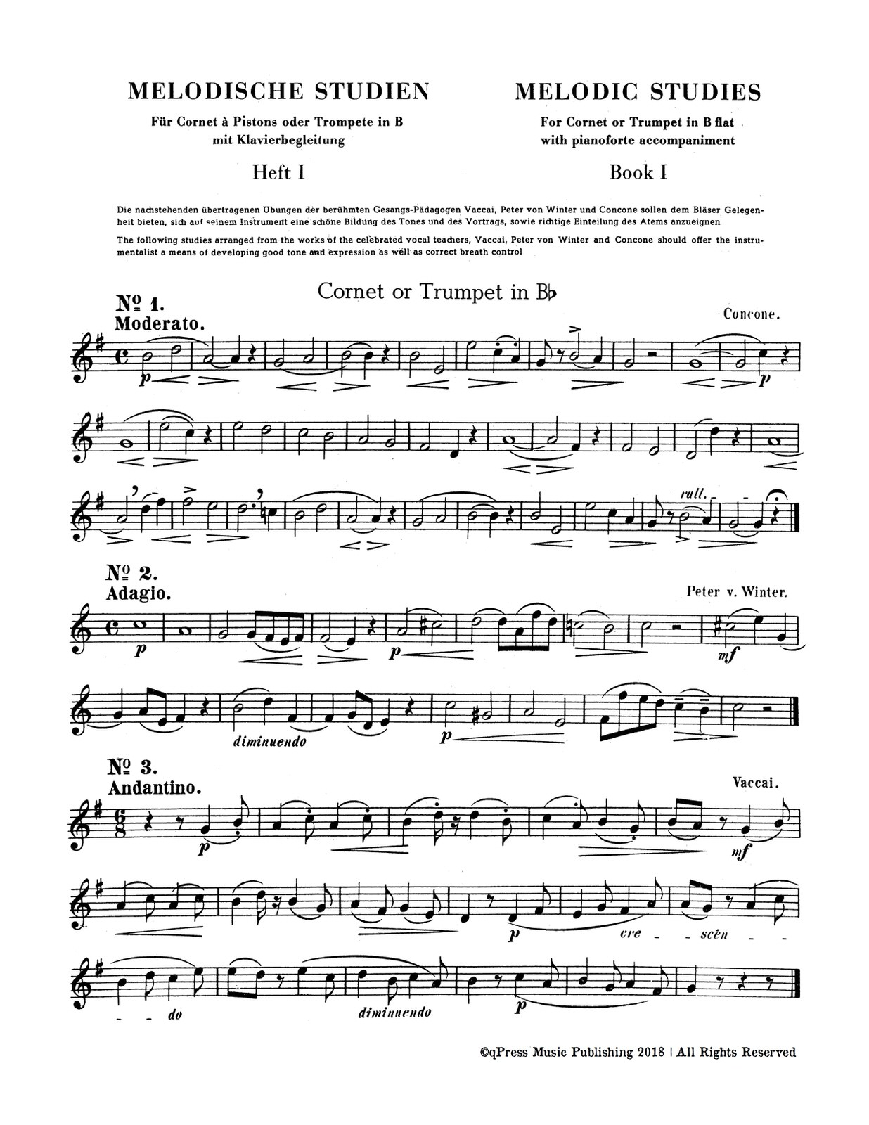 Hoffmann, Melodic Studies for Trumpet & Piano (Part and Score)-p03