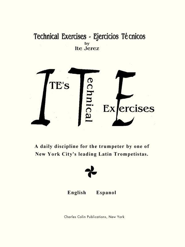 Ite, Jerez, Technical Exercises
