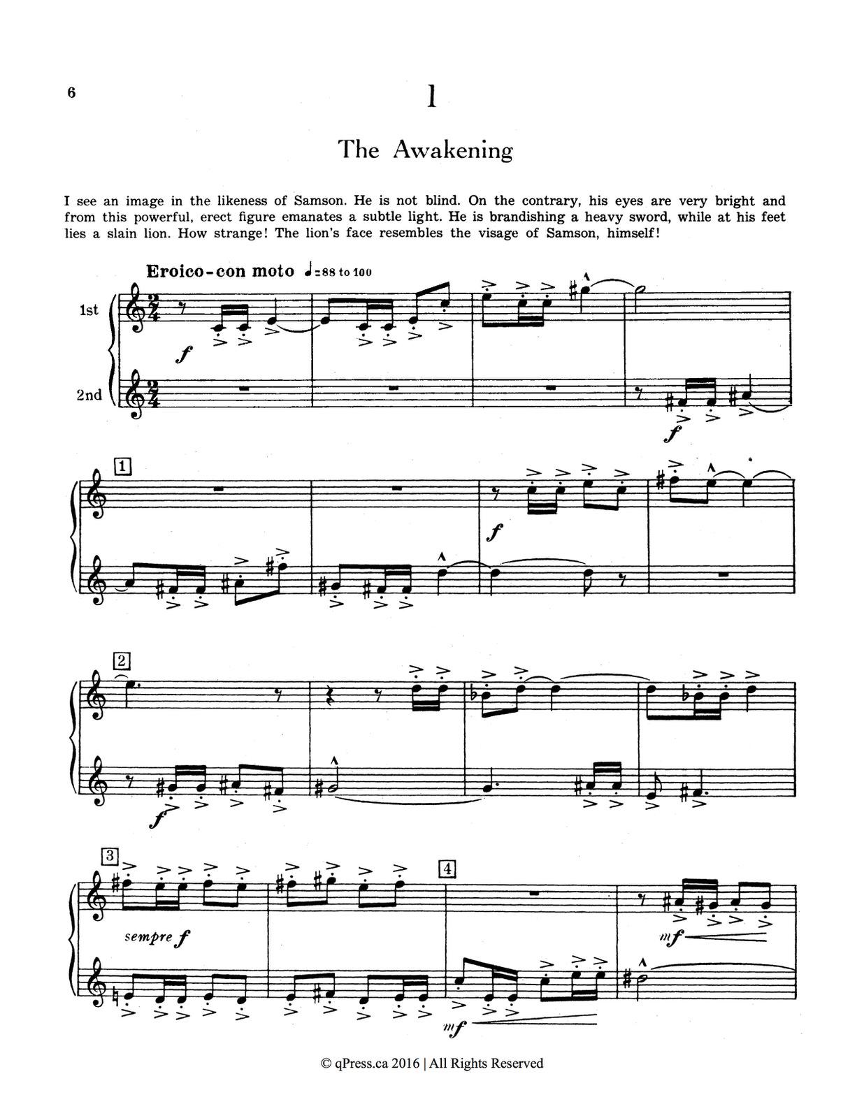 Clean Coscia, Sylvius 20 Original Duets for Trumpet or Cornet Book 1 3