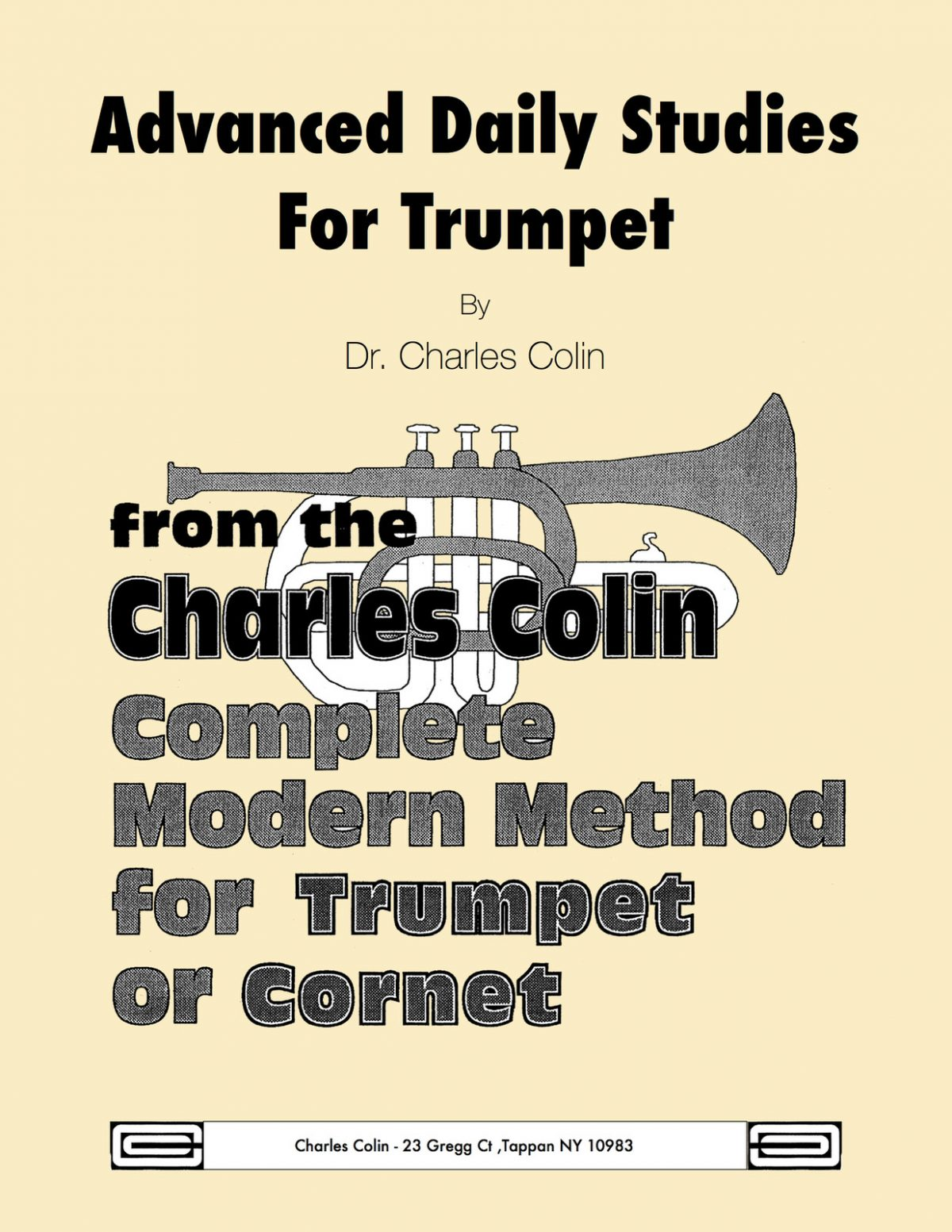 Colin, Advanced Daily Studies for the Trumpet or Cornet