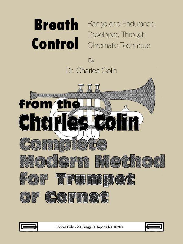 Colin, Breath Control, Range and Endurance Developed Through Chromatic Technique
