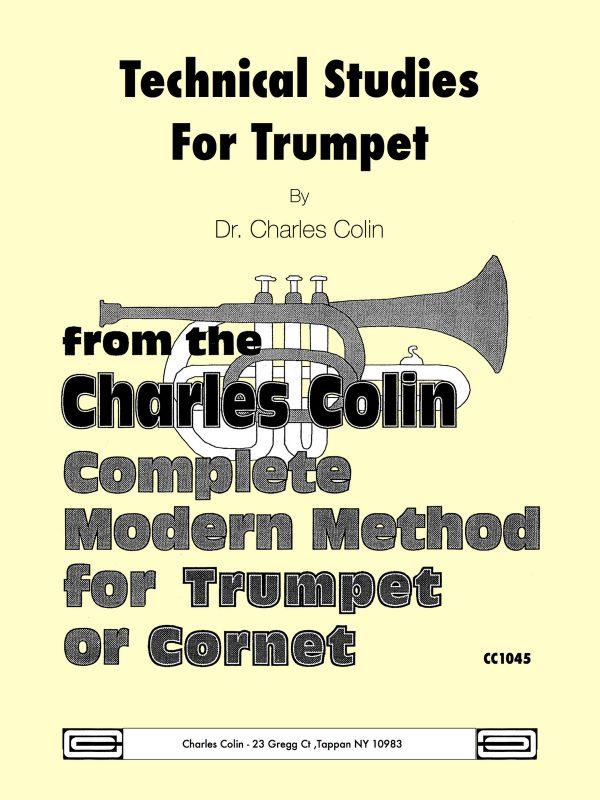 Colin, Trumpet Technical Studies