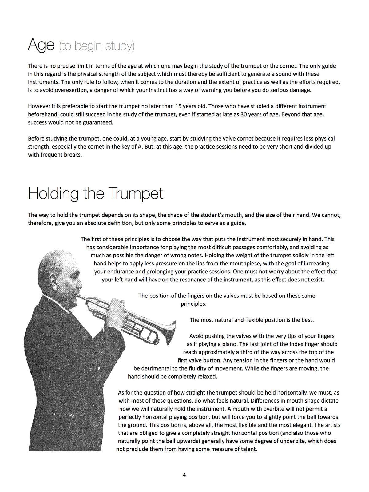 Franquin, Complete Method for Modern Trumpet 3