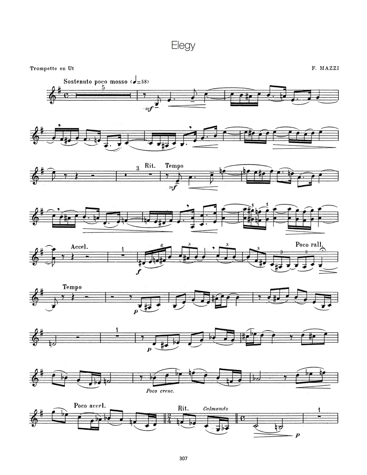 Franquin, Complete Method for Modern Trumpet 9