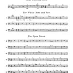 Pease, Fundamental Method for the Trombone and Baritone 3