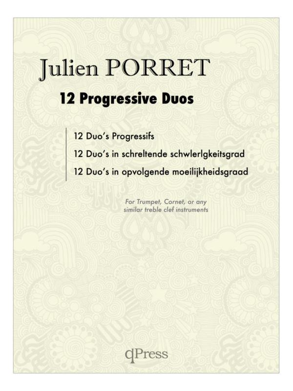 Porret, Julien, 12 Progressive Duos for Trumpet