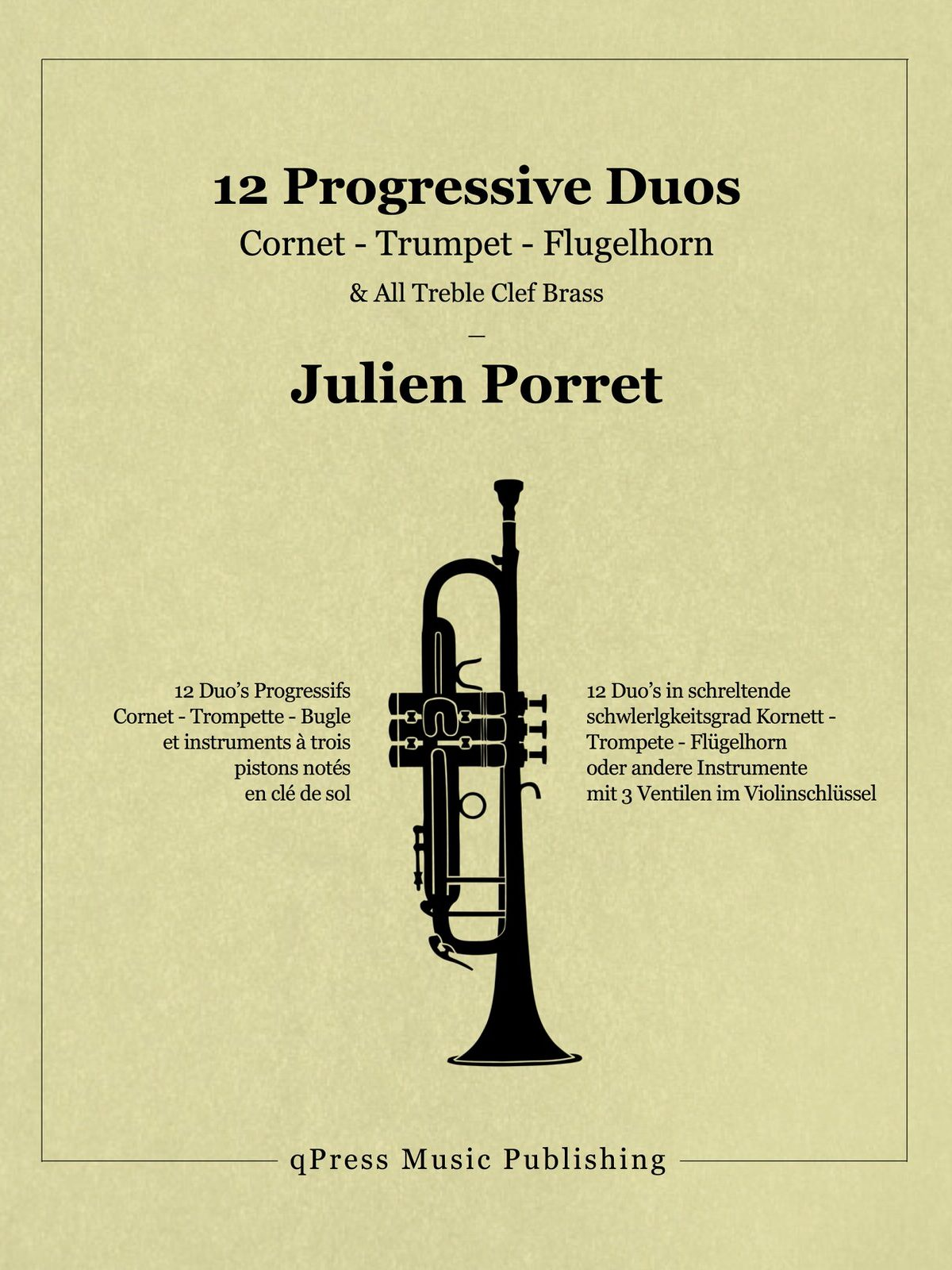 Porret, Julien, 12 Progressive Duos for Trumpet-p01