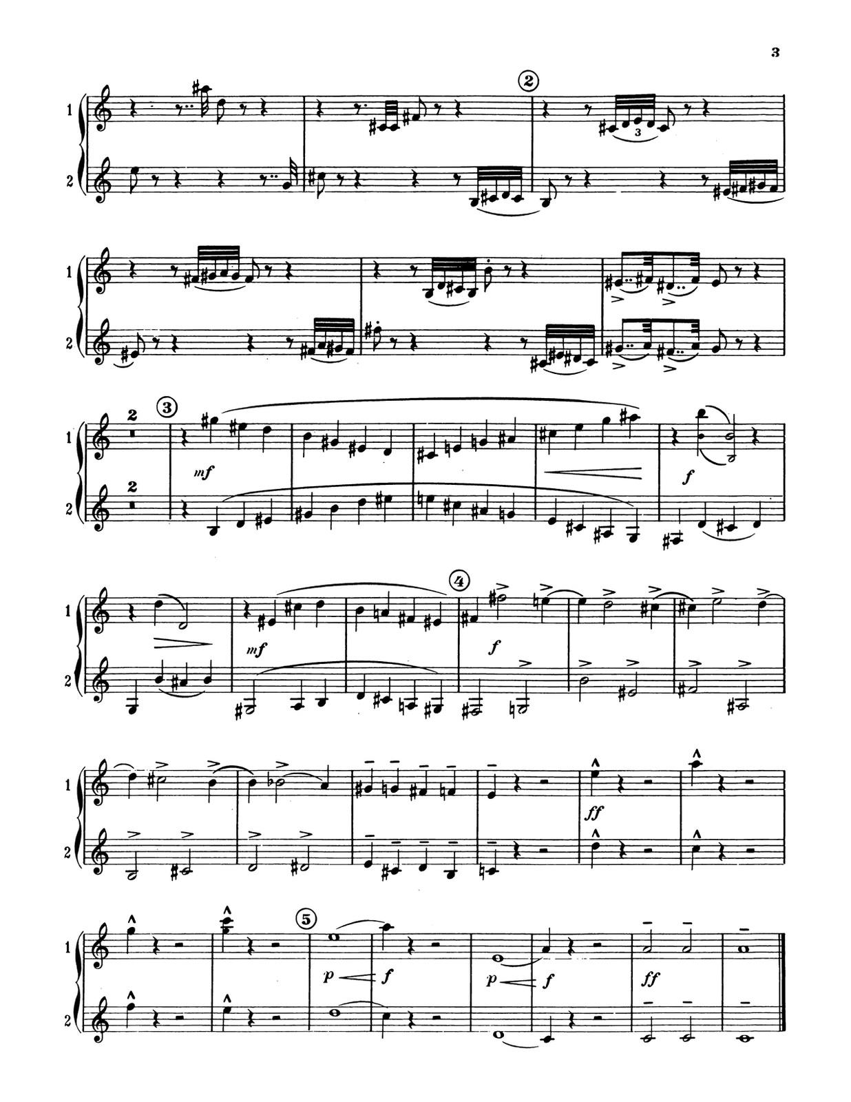 Porret, Julien, 12 Progressive Duos for Trumpet-p03