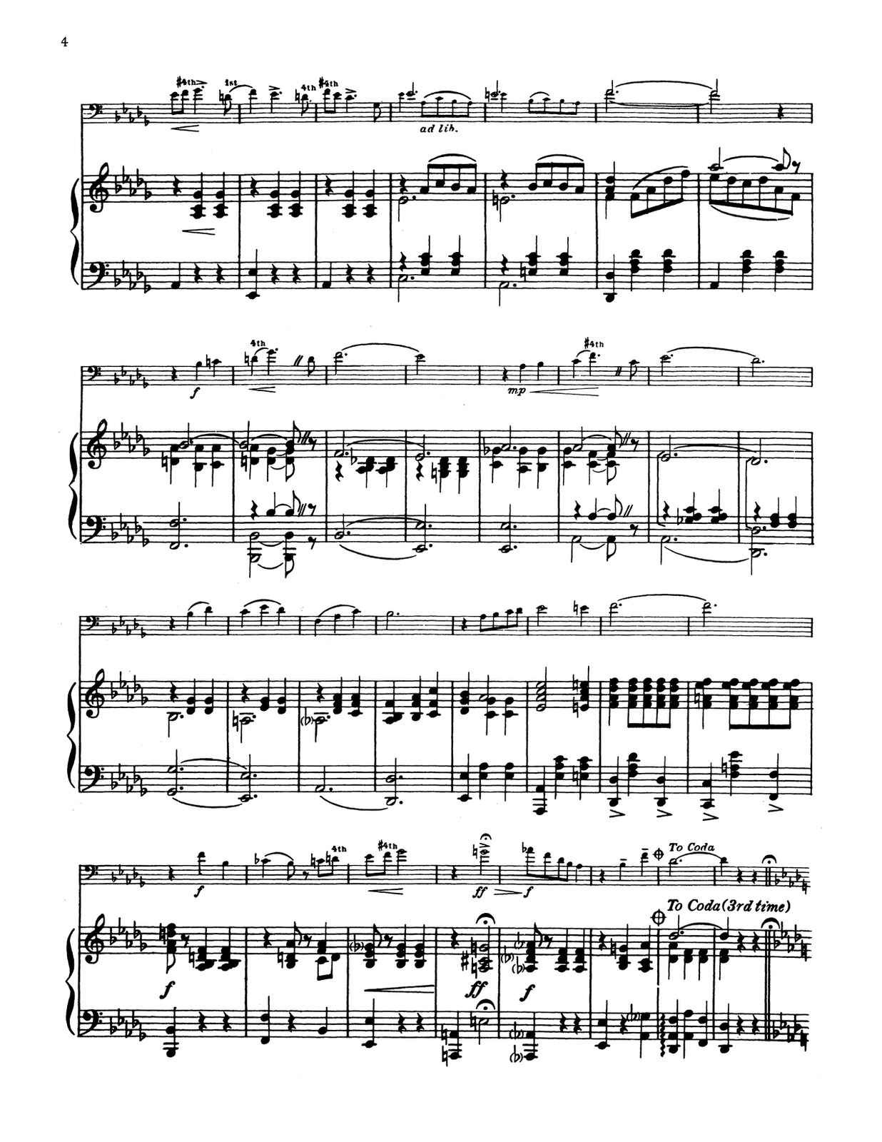 Pryor, Solos for Trombone (Piano) 2