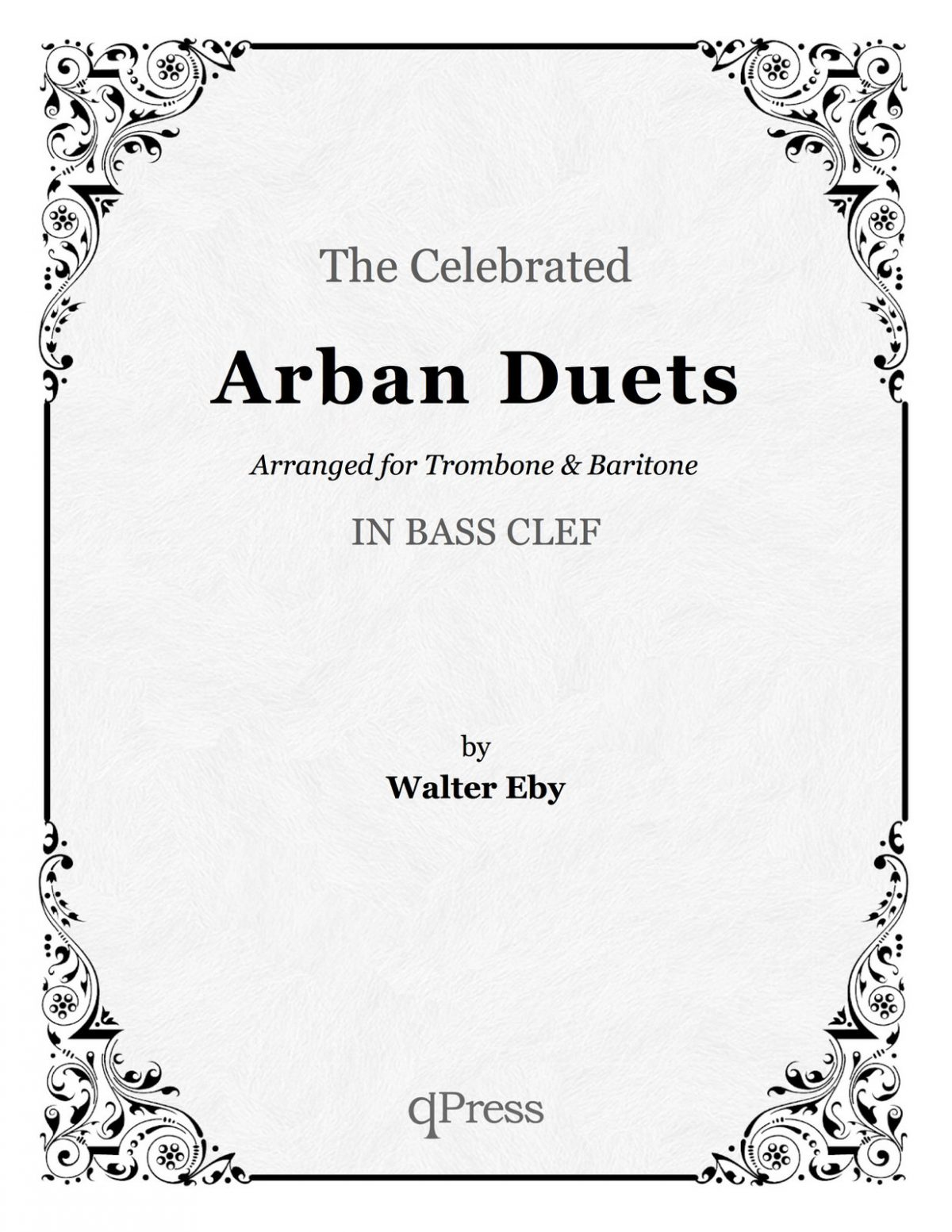 arban-eby-celebrated-duets-for-trombone-in-bass-clef