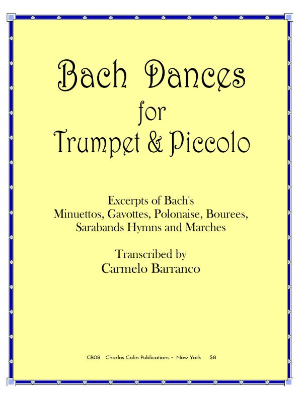 Barranco, Bach Dances for Trumpet & Piccolo
