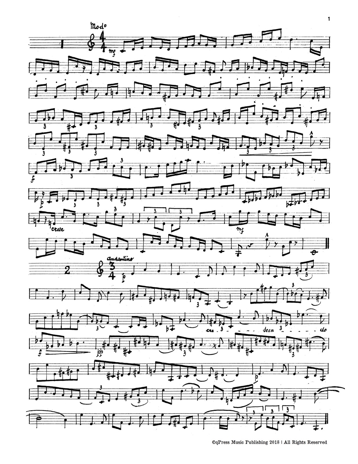 Porret, 24 Sightreading Manuscripts-p05