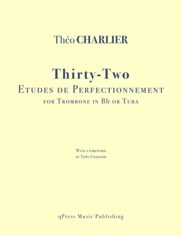 32 Etudes de Perfectionnement pour Trombone