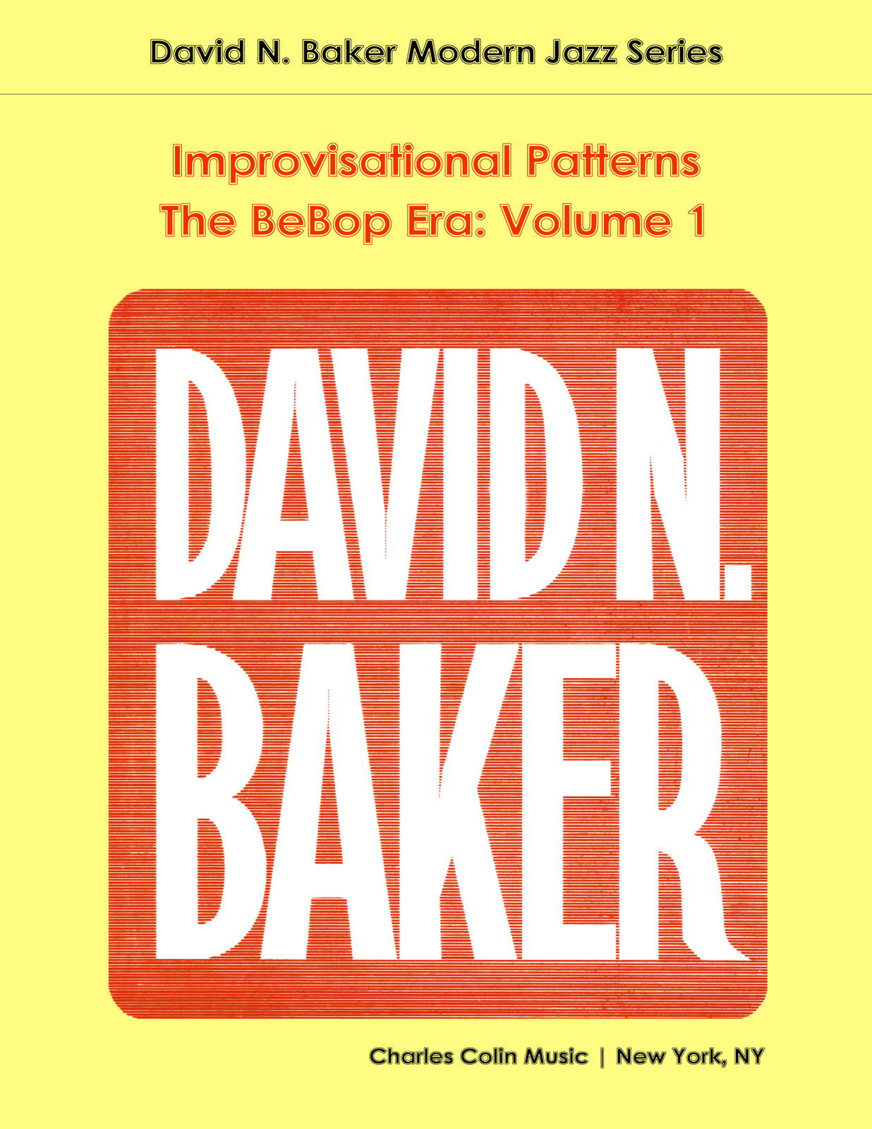 how to play bebop david baker pdf