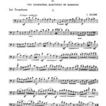 blume-12-melodious-duets-for-trombone-1st-part