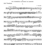 blume-12-melodious-duets-for-trombone-2nd-part