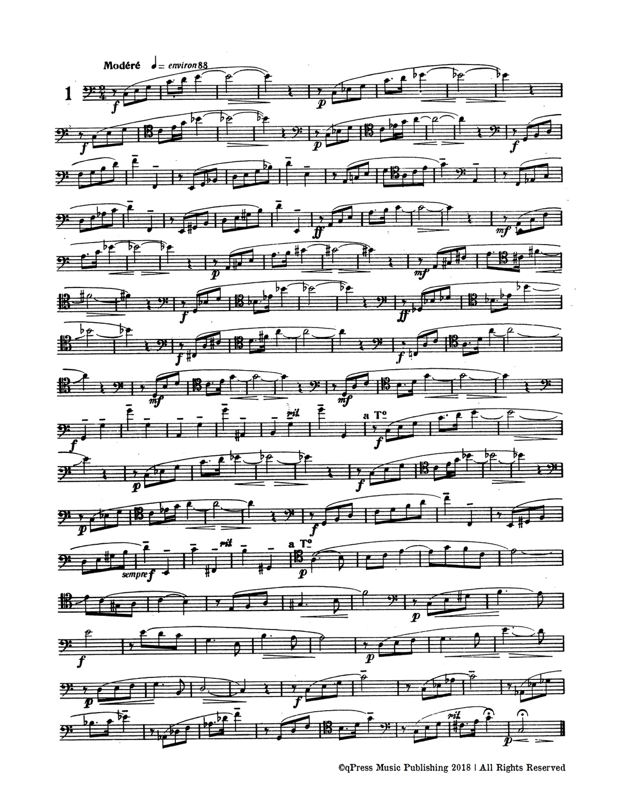 Breard, 12 Transcendental Style Studies for Trombone-p03