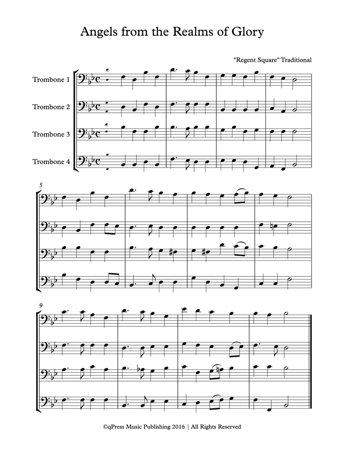 Various, Traditional Carols Orks (Trombone)-p04