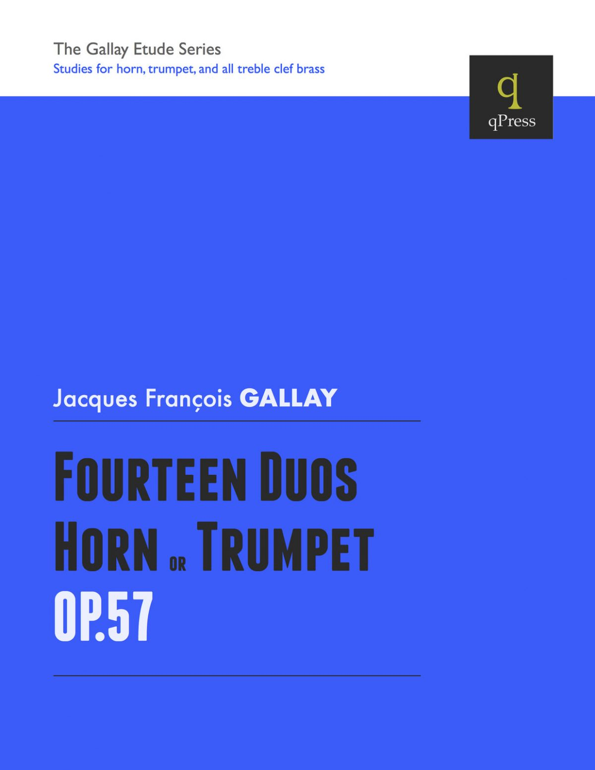 Gallay, 14 Duos for Horn