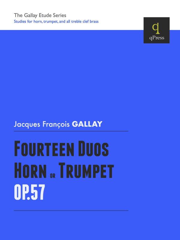 Gallay, 14 Duos for Horn