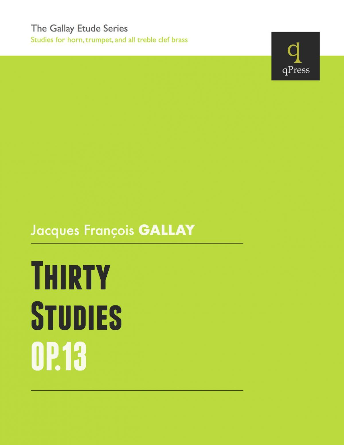 Gallay, 30 Studies Op.13