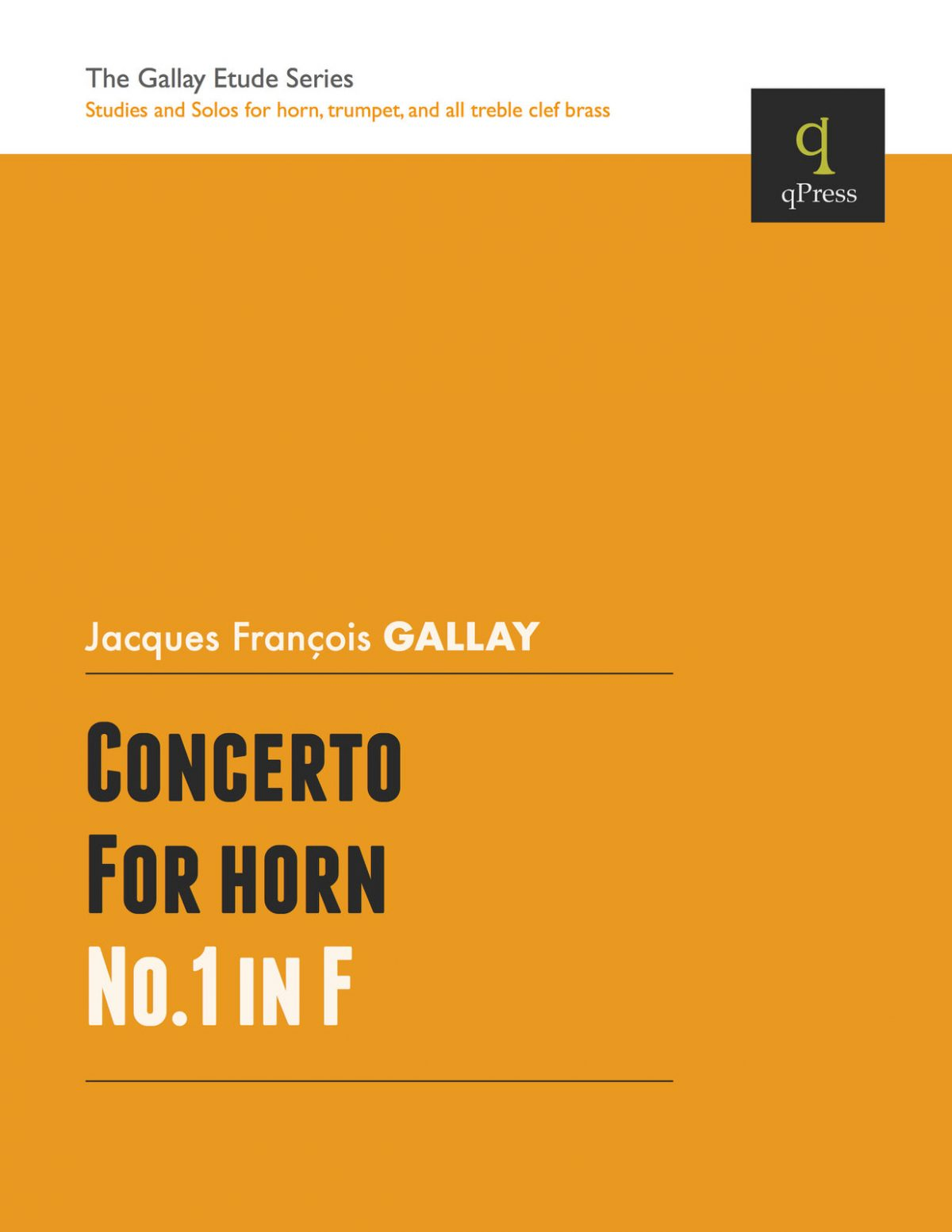 Gallay, Concerto for Horn No.1