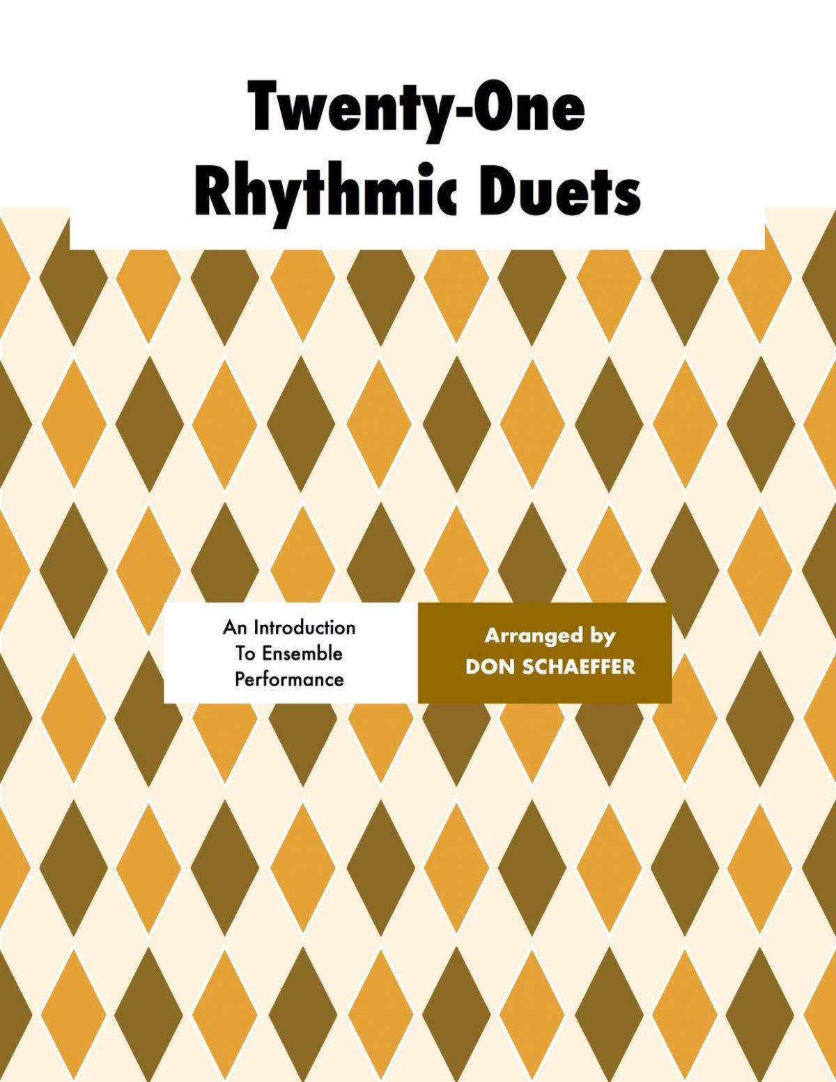 Schaeffer, Don, 21 Rhythmic Duets