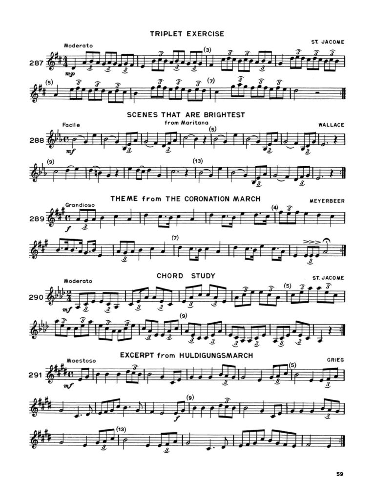 Modern Arban-St.Jacome for Trumpet