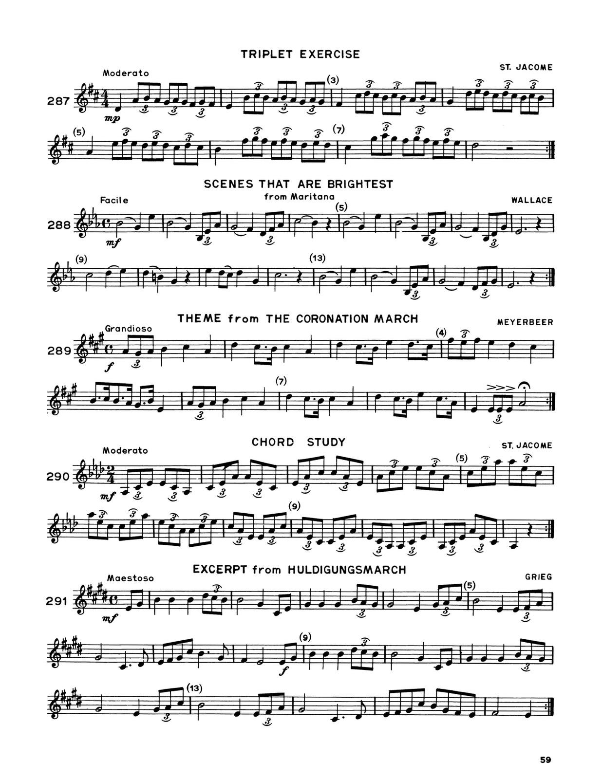 Whistler, Modern Arban-St.Jacome for Trumpet 6