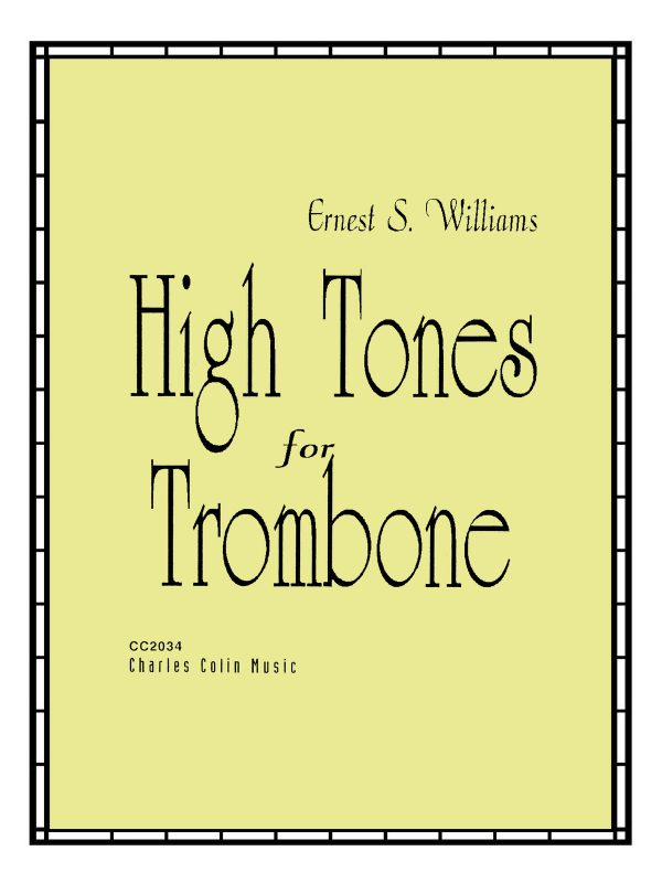 Williams, High Tones for Trombone