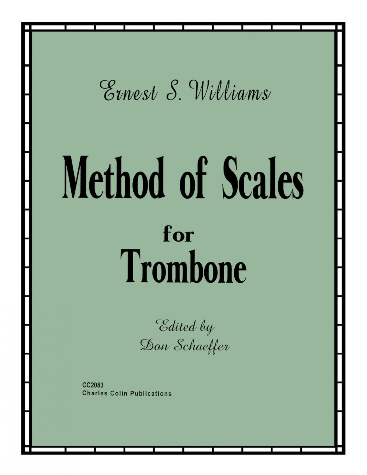 Williams, Method of Scales for Trombone