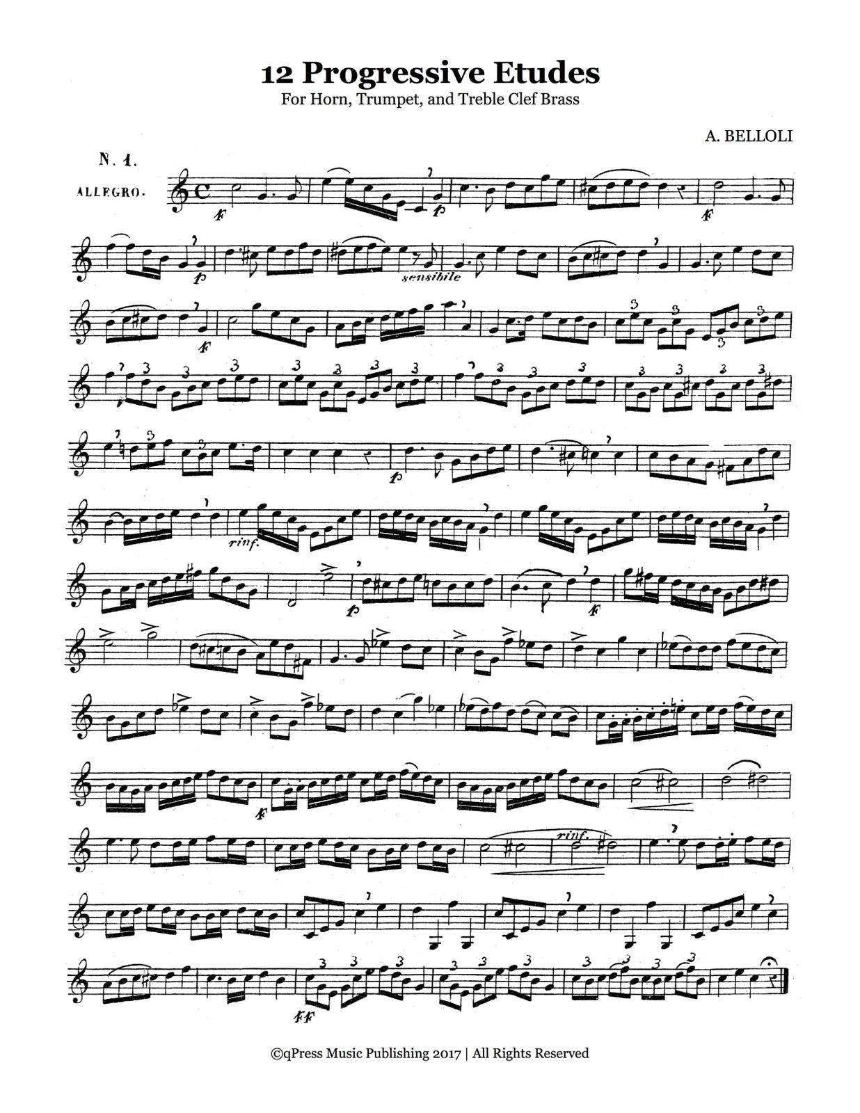 Belloli, 12 Progressive Etudes-p03